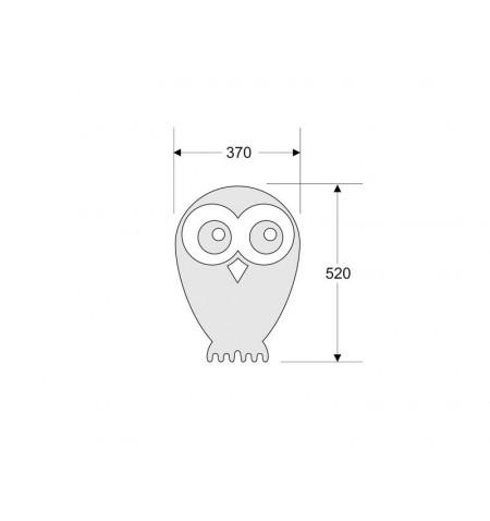 OWL Led Lamp blanco, Blanco frío, regulable