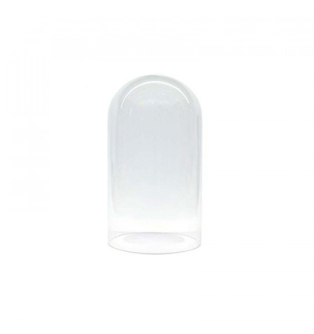 Fanal de cristal Ø10 altura 20cm