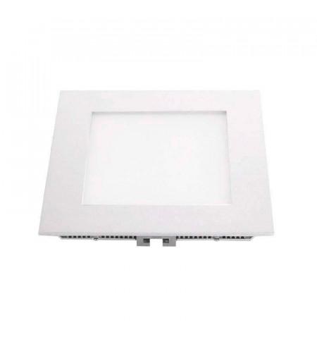 Downlight Led MARAK 12W, alumínio lacado em branco, branco neutro
