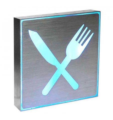 Signaled Restaurante, 20x20, Azul