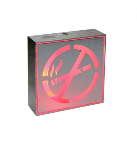 Signaled Prohibido fumar, 10x10, Rojo