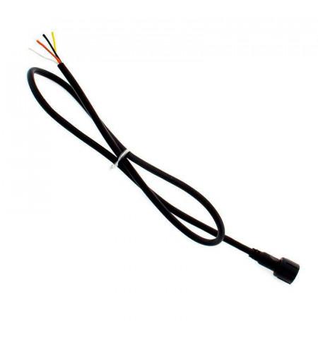 Cable conexión 4 Pinx0,5mm, 50cm, IP67, negro