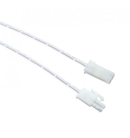 Conector AMP Macho-Hembra 2 Pin con cable 15cm