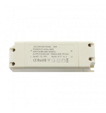 LED Driver DC23-43V/40W/1000mA