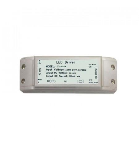 LED Driver DC54-60V/18W/300mA