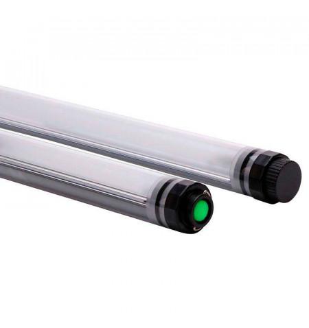 Tubo LED Multifunción con batería recargable, 5W, IP68, Blanco frío, regulable