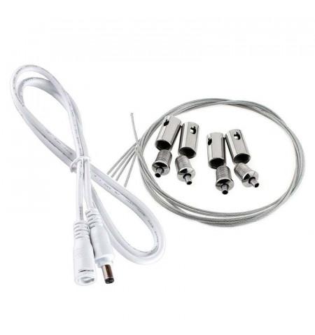 Kit Cables de suspensión para Marcos Luminosos FRAMELUX