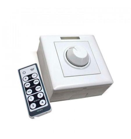 Regulador Dimmer LED + mando IR 800W, 0-10V