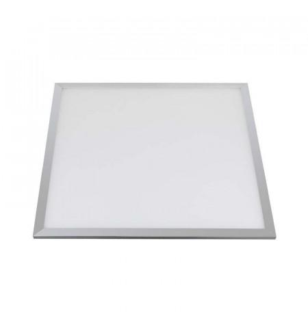 Panel 72W, Samsung ChipLed + TUV driver, 60x60cm, marco silver, Blanco cálido