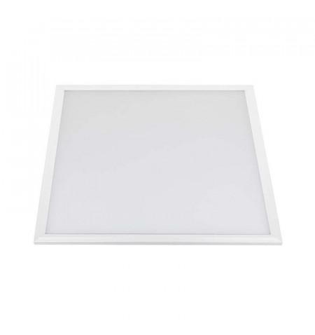 Panel 50W, Samsung ChipLed + TUV driver, 60x60 cm, marco blanco, Blanco neutro