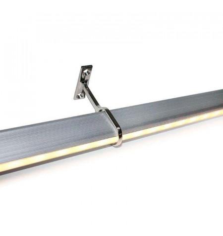 LOCKER KIT barra con luz Led de 110cm para armarios, Blanco cálido