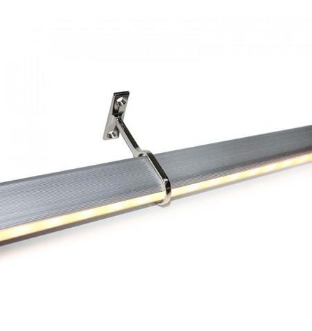 LOCKER KIT barra con luz Led de 90cm para armarios, Blanco cálido