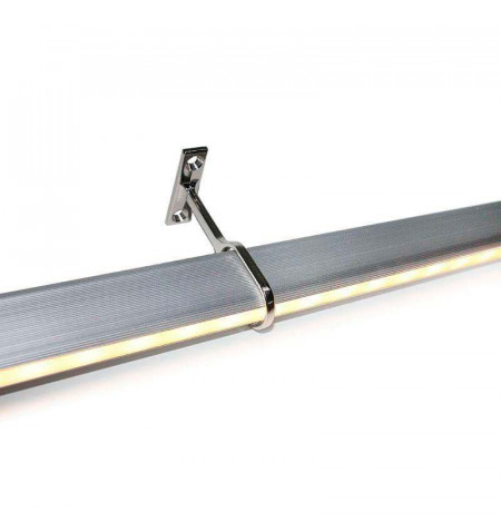 LOCKER KIT barra con luz Led de 55cm para armarios, Blanco frío