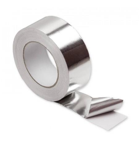 Cinta adhesiva de aluminio 50mm, 25m