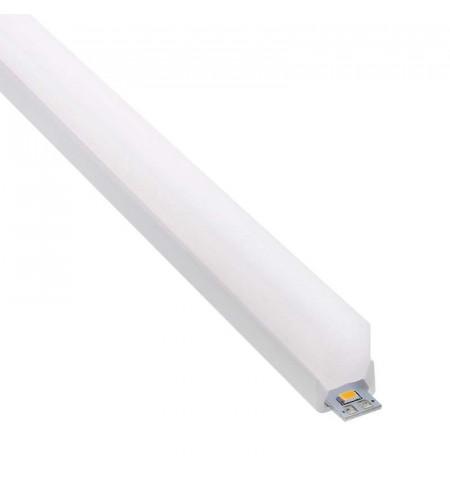 KIT - Perfil PC FOOT MINI para tiras LED, 1 metro