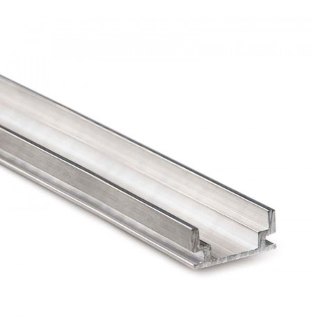 Perfil aluminio HARDY para tiras LED, 2 metros