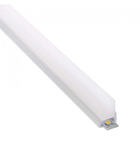 KIT - Perfil PC FOOT MINI para tiras LED, 2 metros