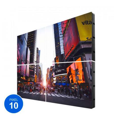 Pantalla LED Exterior, Pixel 10, RGB, 3.68m2, 4 Módulos