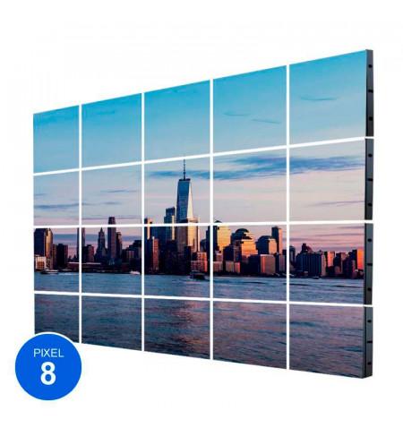 Pantalla Led Exterior, Pixel 8, RGB, 18,43m2, 20 Módulos