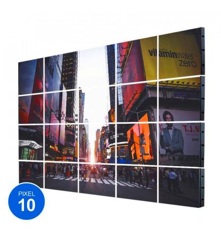 Pantalla LED Exterior, Pixel 10, RGB, 18.43m2, 20 Módulos