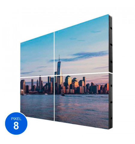 Pantalla Led Exterior, Pixel 8, RGB, 3.68m2, 4 Módulos