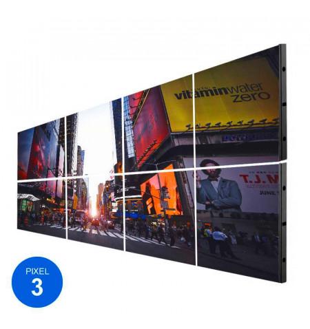 Pantalla LED Interior, Pixel 3, RGB, 2.45m2, 8 Módulos + Control
