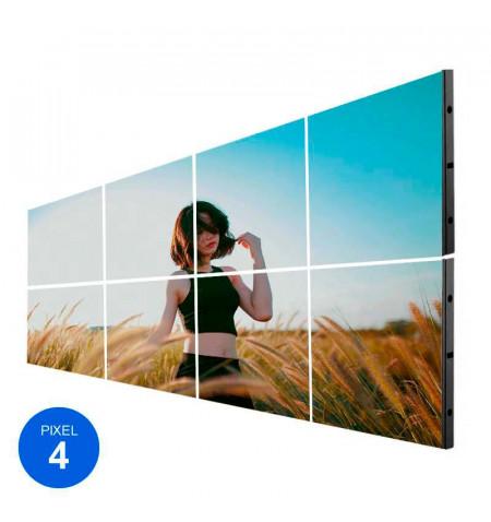 Pantalla LED Interior, Pixel 4, RGB, 2.45m2, 8 Módulos + Control