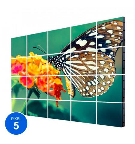 Pantalla Led Interior, Pixel 5, RGB, 6.14m2,  20 Módulos + Control