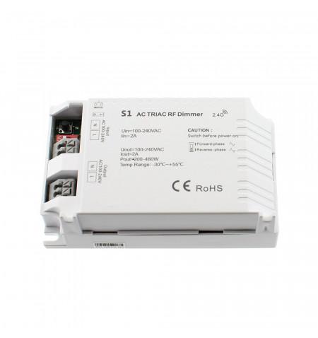 Regulador TRIAC Dimmer S1, 220V, RF