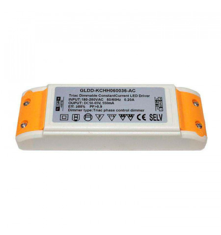 LED Driver DC50-65V/40W/550mA TRIAC Regulable, regulable