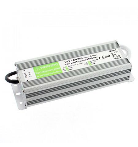Fuente de alimentación IP67, DC12V/100W/8,3A