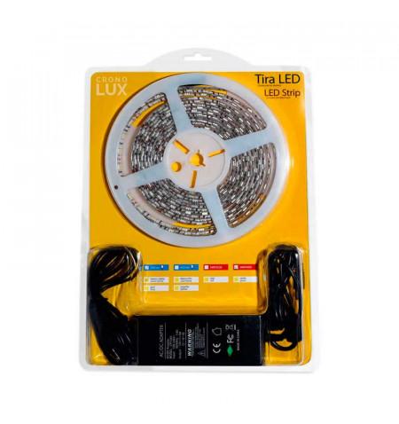 KIT tira LED flexible SMD5050, 5m (60 Led/m) - IP65, Blanco frío