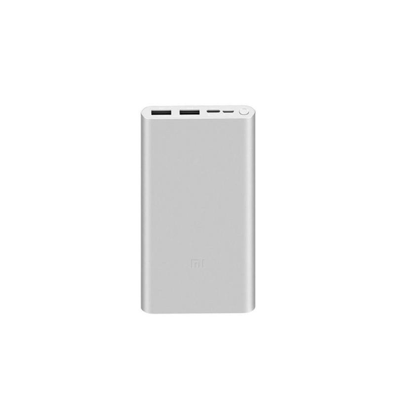 Powerbank Xiaomi Mi Bank 3 10.000mAh Prata