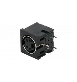Conector Mini–Din F para soldar de chassi ( SD DC 04 )