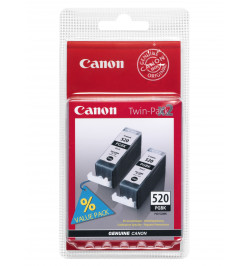 Tinteiro Original Canon PGI-520BK Twin Pack