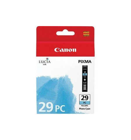 Tinteiro Original Canon PGI-29 Foto Ciano (4876B001)