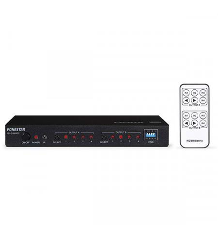 FONESTAR MATRIZ HDMI 4 X 2