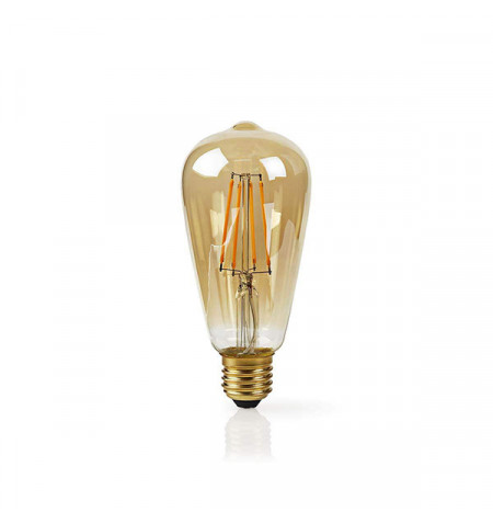 NEDIS WIFI SMART LED FILAMENT BULB E27 ST64 5W 400 LM
