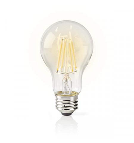 NEDIS WIFI SMART LED BULB FILAMENT E27 WHITE A60