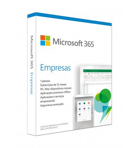 Microsoft 365 Bus Std Retail Portuguese EuroZone Sub 1YR Mdls P6