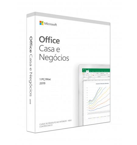 Office Home & Business 2019 Portuguęs EuroZone Medialess  » Preço Especial - válido p/ unid faturada