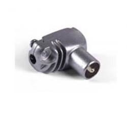 CONECTOR COAXIAL ANGULAR - MACHO BLIND. 9,5mm Televés