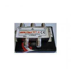 REPARTIDOR 4 SAÍDAS 1000Mhz Iberosat - RT 4