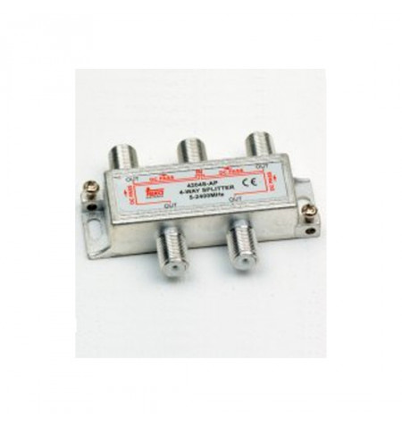 REPARTIDOR INT. 4-VIAS 2,4GHz SL 4204S-AP - Teka