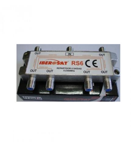 REPARTIDOR 6 SAÍDAS 5-2400Mhz Iberosat - RS 6