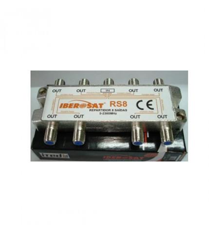 REPARTIDOR 8 SAÍDAS 5-2400Mhz Iberosat - RS 8