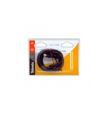 PROLONGADOR MACHO/FÊMEA RF RM 9,5mm/2,5m Televés