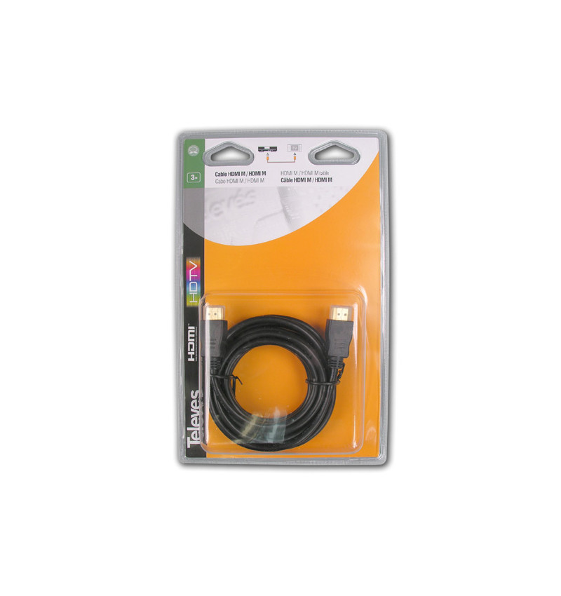 CABO HDMI M-M DE 3m Televés