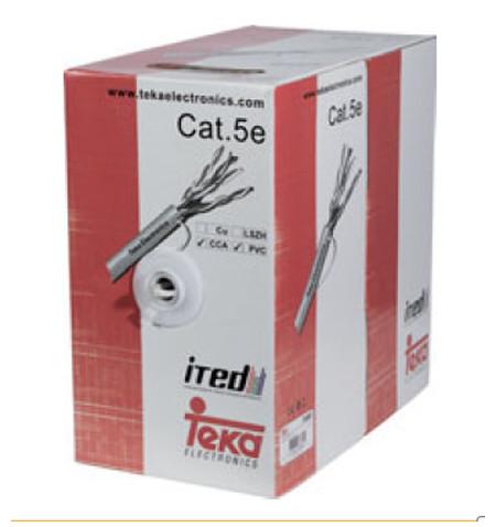 CABO UTP CAT5E CCA TK - 305M - Teka