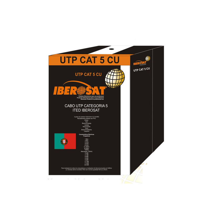 CABO UTP CAT 5e CU ITED Iberosat -305M- UTP CAT5CU